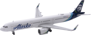 Alaska Airlines Model 1/400 scale Gemini A321 Neo Standard Livery
