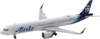 Alaska Airlines Model 1/400 scale Gemini A321 Neo Standard Livery image 1