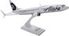 Alaska Airlines Model 1/130 scale Skymarks 737-800 Employee Powered image 2