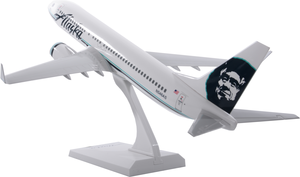 Alaska Airlines Model 1/130 scale Skymarks 737-800 Retro Livery with winglets