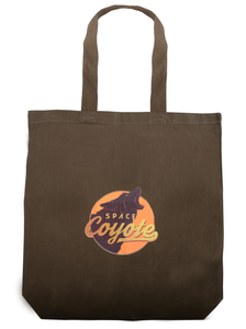 Space Coyote Tote Bag