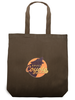 Space Coyote Tote Bag image 1