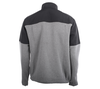 Alaska Airlines Jacket Mens Big Cotton Charcoal and Black image 3