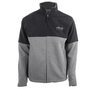 Alaska Airlines Jacket Mens Big Cotton Charcoal and Black image 1