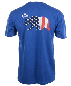 American Flag Bear Tee