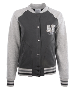 Alaska Airlines Jacket Ladies Champion Fleece Bomber