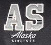 Alaska Airlines Jacket Ladies Champion Fleece Bomber image 3