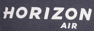 Horizon Air Sweatshirt Unisex Cutter and Buck Hooded Heather Blue