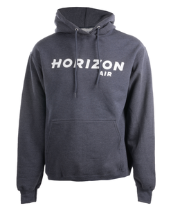 Horizon Air Sweatshirt Unisex Cutter and Buck Hooded Heather Blue