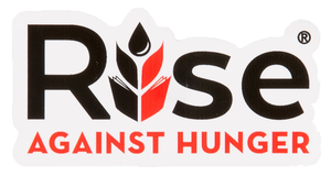 Rise Against Hunger Decal