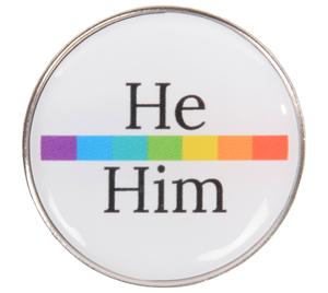 Pronoun Pin He Him Merchandise Premera Employee Store 2,805 likes · 111 talking about this · 2 were here. kotis design