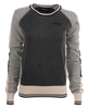 Alaska Airlines Sweater Ladies Cutter and Buck Stride Colorblock image 1