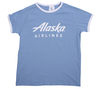 Alaska Airlines T-shirt Youth Clique Ringer image 1