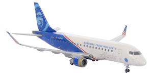 Alaska Airlines Model 1/400 scale Gemini E175 Horizon Air Honoring Those Who Serve