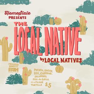Local Natives (artwork by Mallory Cohn)