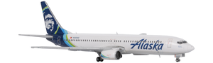 Alaska Airlines Model 1/400 scale Gemini 737-900 Standard Livery