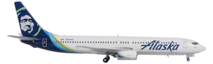 Alaska Airlines Model 1/400 scale Gemini 737-900 Standard Livery