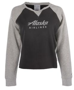 Alaska Airlines Sweatshirt Ladies Champion Rochester