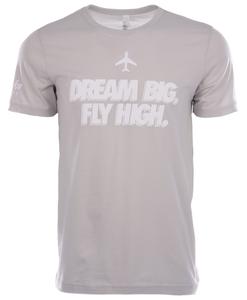 Alaska Airlines T-Shirt Russell Wilson Dream Big Fly High