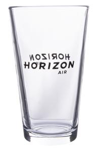 Horizon Air Glass Pint 16oz