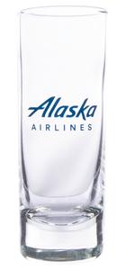 Alaska Airlines Glass Shot 2.5oz
