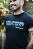 Earthjustice Good Lawyer T-Shirt - Black image 4