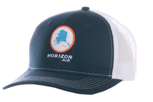 Horizon Air Cap AHEAD Alaska Map