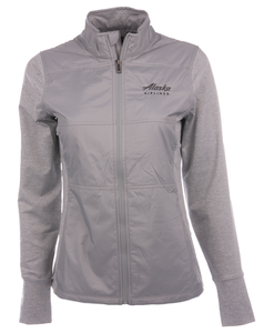 Alaska Airlines Jacket Ladies Cutter and Buck Stealth