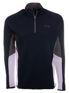 Alaska Airlines Sweatshirt Mens Cutter and Buck 1/4 Zip Traverse