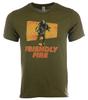 Friendly Fire Logo Shirt image 2