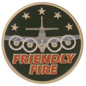 Friendly Fire Challenge Coin
