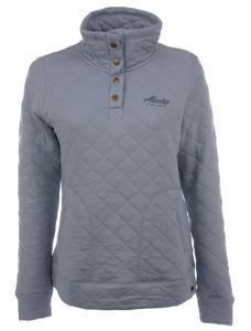 Alaska Airlines Sweatshirt Ladies Techstyles Quilted