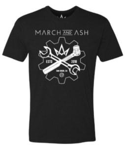 March & Ash Wrench Tee