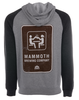 Unisex District Lightweight Fleece Raglan Hoodie image 2