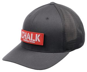 Grey Velcro Patch Hat