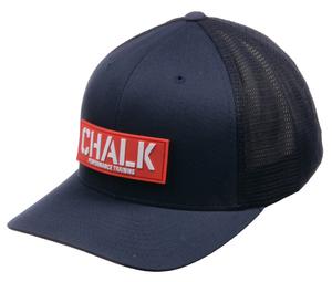 Navy Velcro Patch Hat