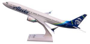 Alaska Airlines Model 1/130 scale Skymarks 737 Max9 Standard Livery22.10