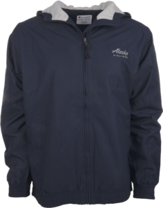 Alaska Airlines Jacket Mens Champion Victory Navy