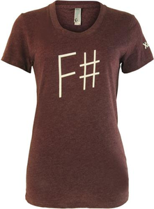 Xamarin - F# Women's American Apparel 50/50 T-shirt