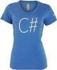 Xamarin - C# Women's American Apparel 50/50 T-shirt image 1