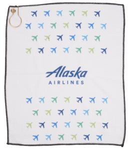 Alaska Airlines Golf Towel