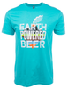 Earth Powered Beer Tee image 1