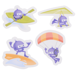 Sticker Pack - Play
