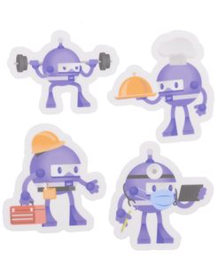Sticker Pack - Work