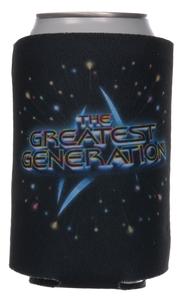 Greatest Gen Logo Koozie
