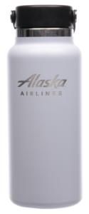 Alaska Airlines Hydro Flask 32 oz Fog
