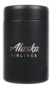 Alaska Airlines Can Chiller MiiR 12oz Black