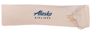 Alaska Airlines Straw 10 in 1
