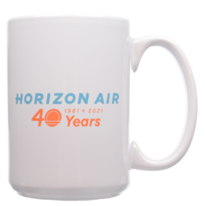 Horizon Air Mug 40th Anniversary