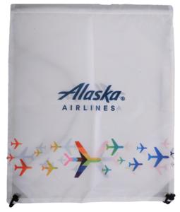 Alaska Airlines  Drawstring Cinch Pack  Pride